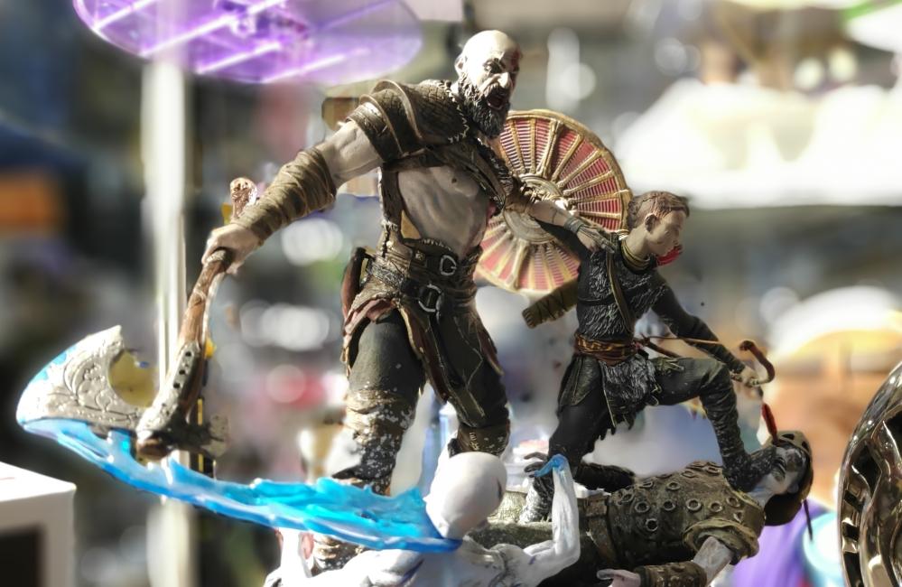 Kratos y Atreus en God of War