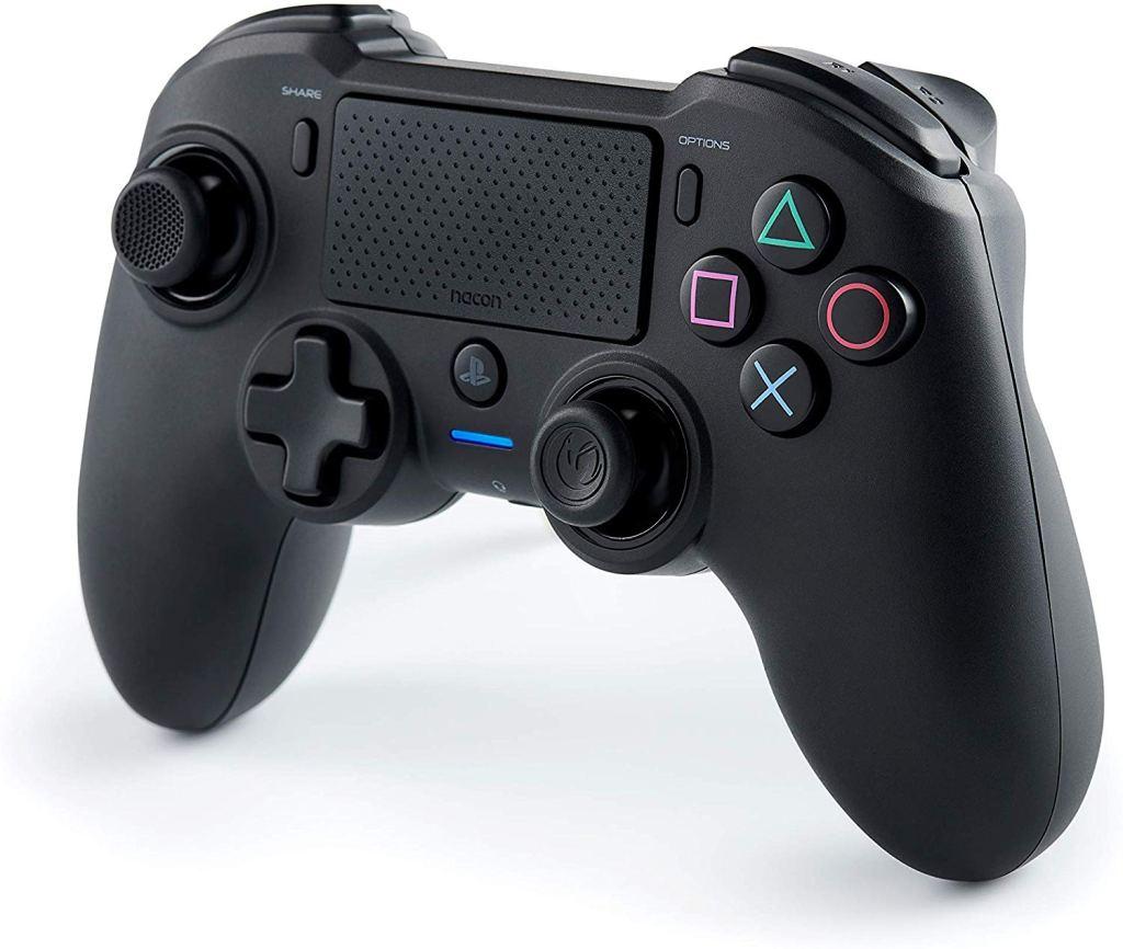 El Nacon Asymmetric es una apuesta segura para tener un buen mando de PS4 con la comodidad de los mandos de Xbox y Switch.